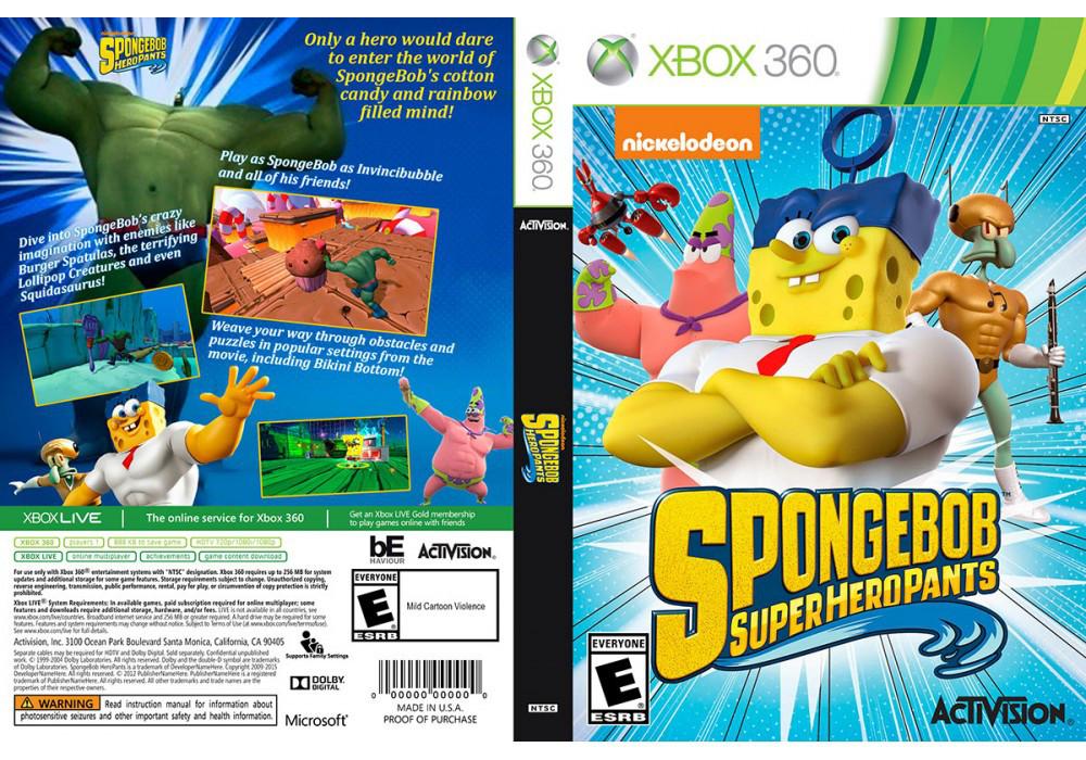 Игра для игровой консоли Xbox 360, SpongeBob HeroPants