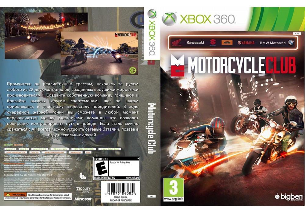 Игра для игровой консоли Xbox 360, Motorcycle Club