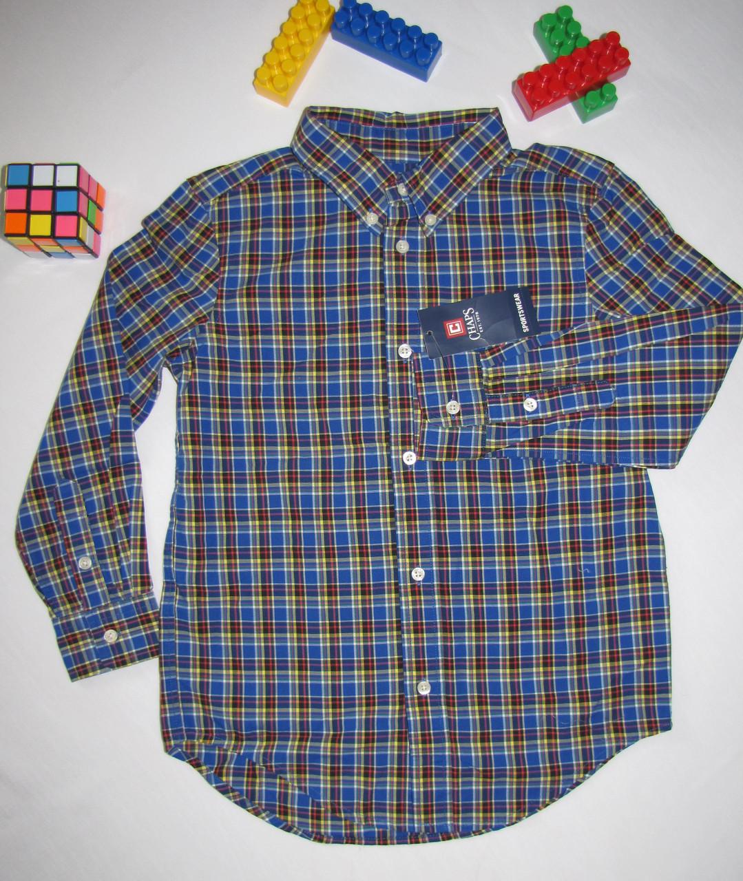 Рубашка Chaps оригинал рост 122 см 07056