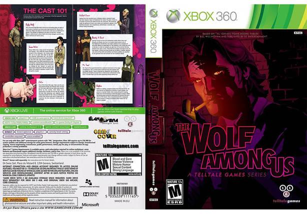Игра для игровой консоли Xbox 360, The Wolf Among Us, фото 2