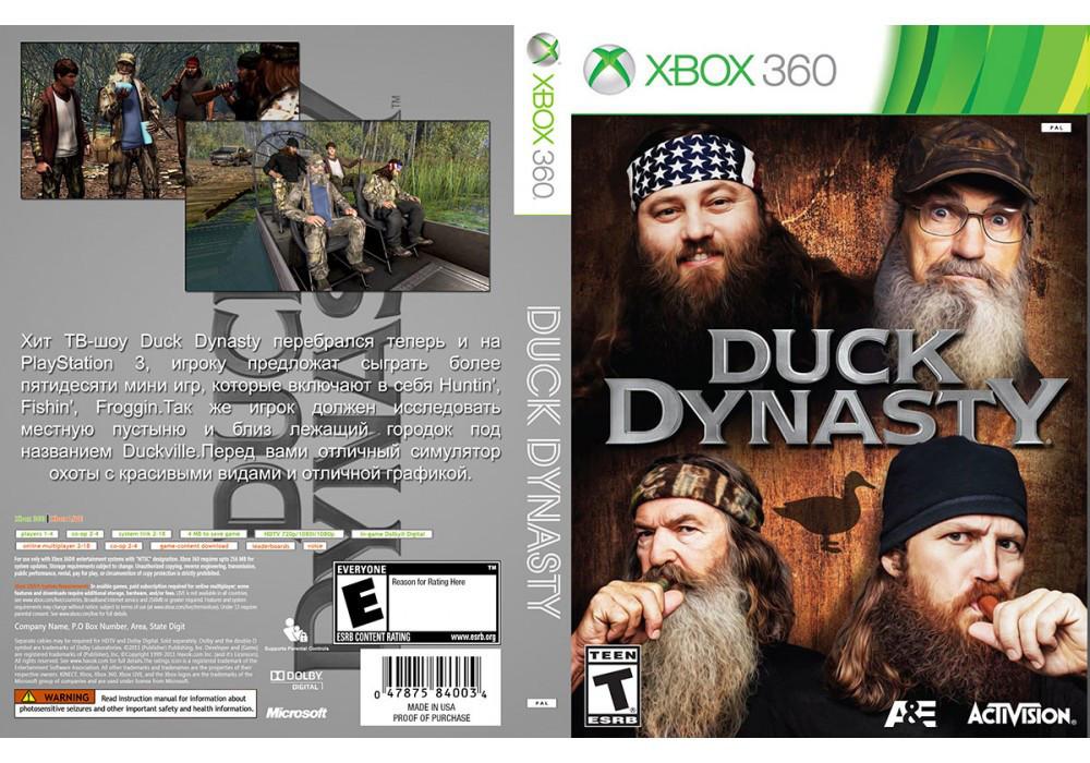 Игра для игровой консоли Xbox 360, Duck Dynasty