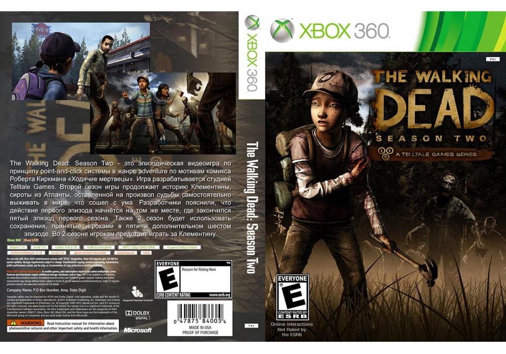 Игра для игровой консоли Xbox 360, The Walking Dead: Season Two