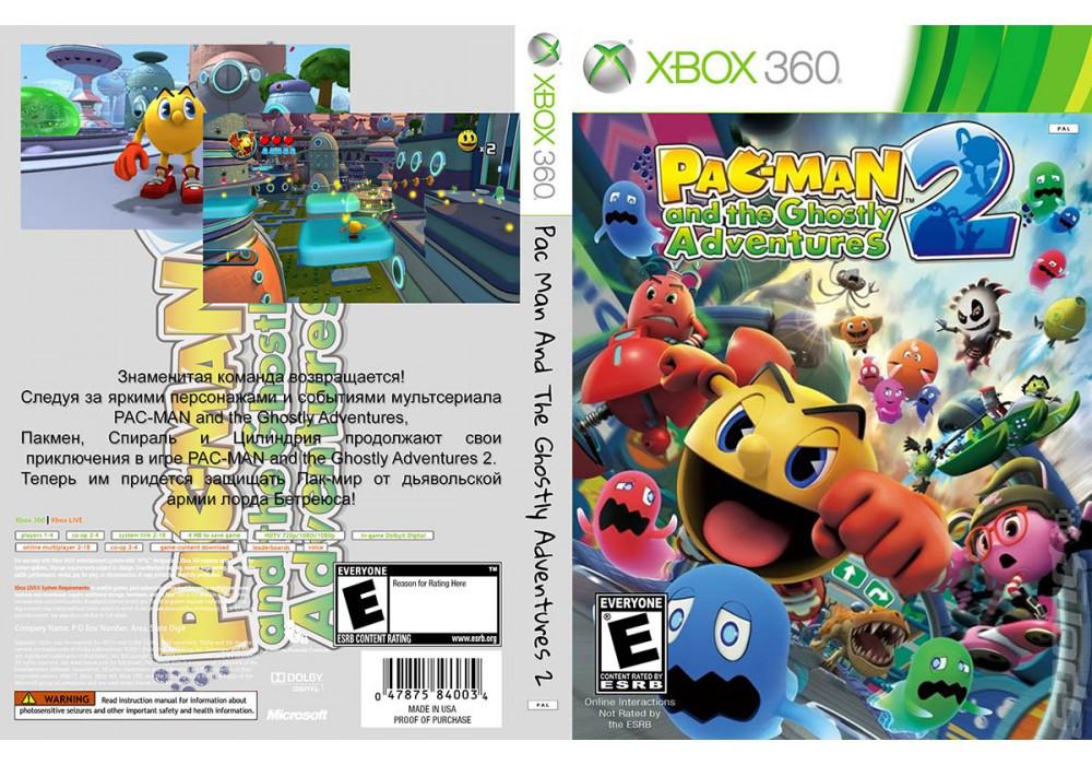 Игра для игровой консоли Xbox 360, Pac Man And The Ghostly Adventures 2