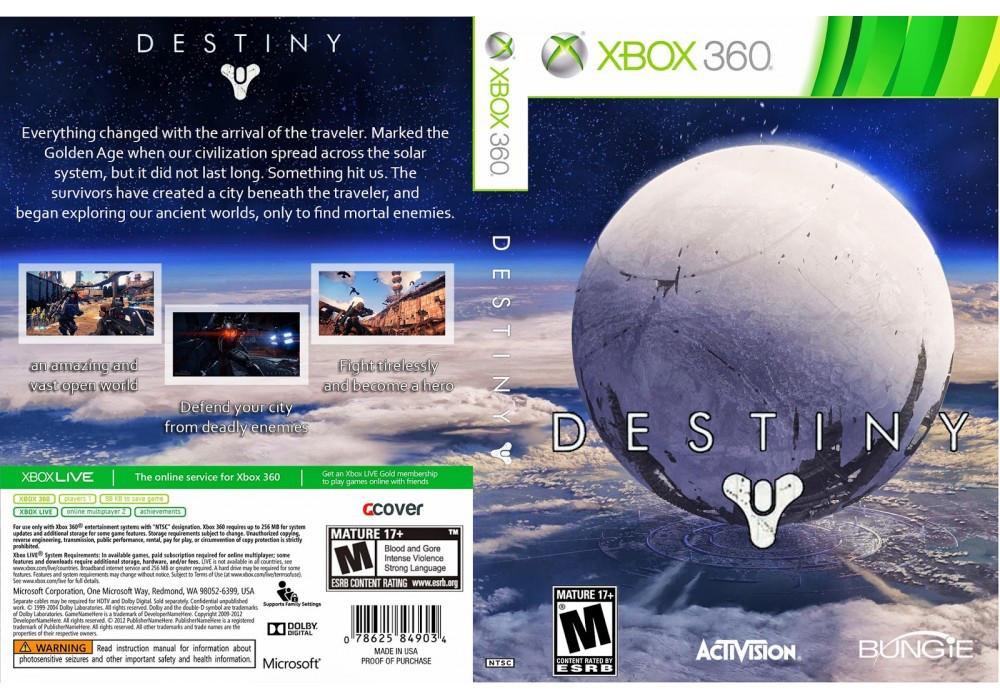 Игра для игровой консоли Xbox 360, Destiny (только для Xbox Live + скидка на Gold подписку)