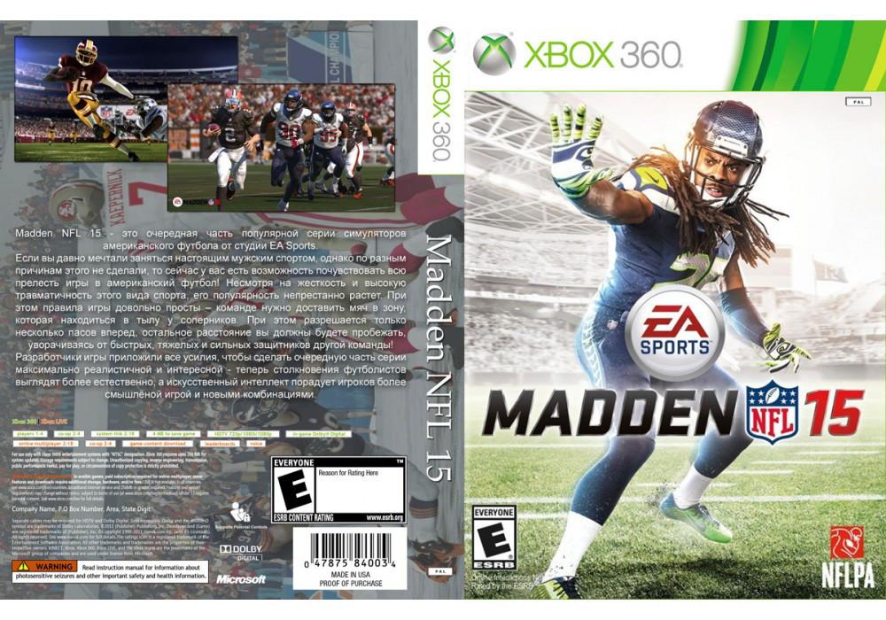 Игра для игровой консоли Xbox 360, Madden NFL 15