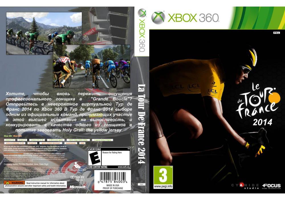 Игра для игровой консоли Xbox 360, La Tour De France 2014