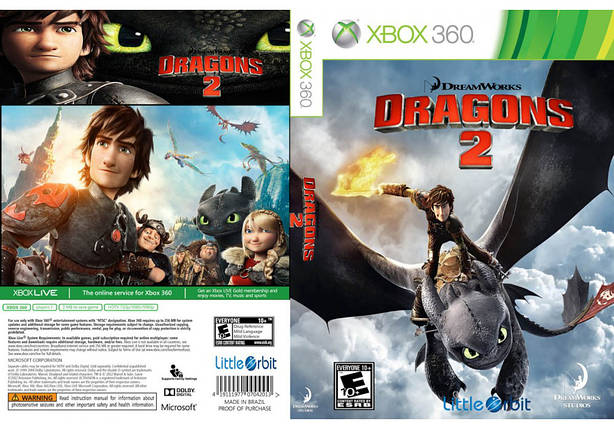 Игра для игровой консоли Xbox 360, How to Train Your Dragon 2, фото 2