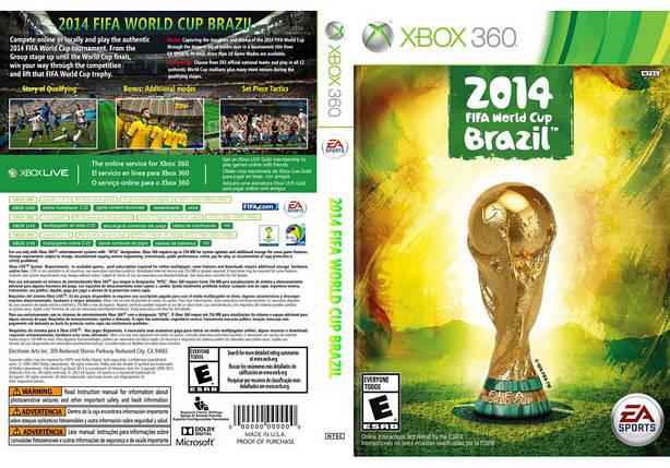 Игра для игровой консоли Xbox 360, 2014 FIFA World Cup Brazil, фото 2