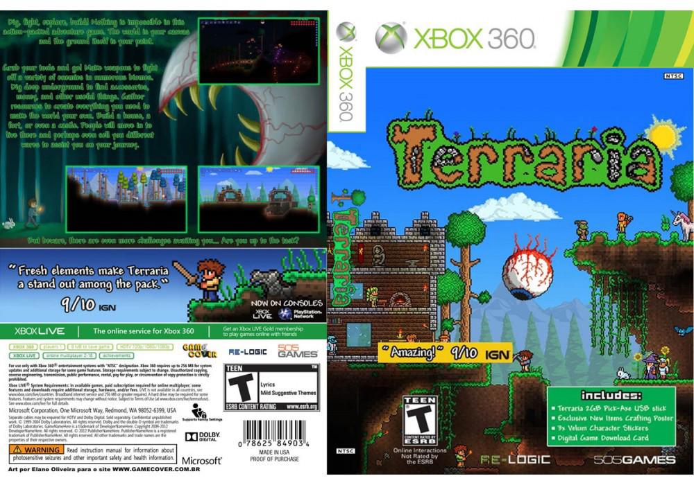 Игра для игровой консоли Xbox 360, Terraria