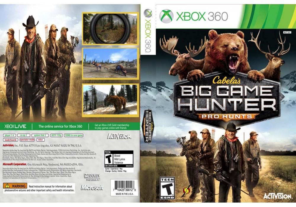 Игра для игровой консоли Xbox 360, Cabelas Big Game Hunter Pro Hunts