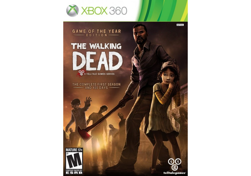 Игра для игровой консоли Xbox 360, The Walking Dead: Game of the Year Edition