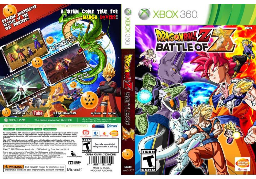 Игра для игровой консоли Xbox 360, Dragon Ball Z: Battle of Z
