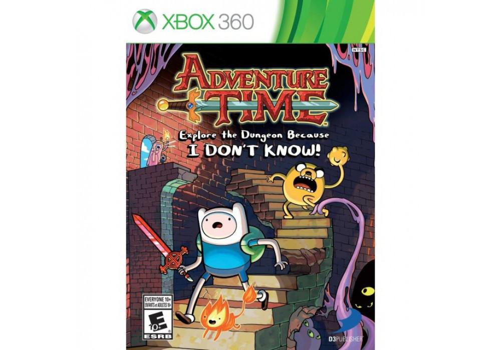 Игра для игровой консоли Xbox 360, Adventure Time: Explore the Dungeon Because I Don't Know!