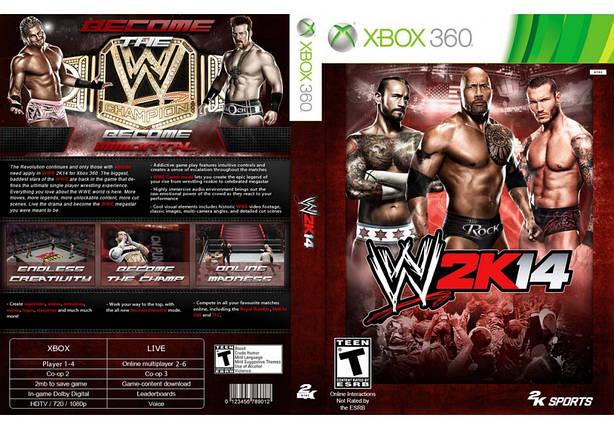 Гра для ігрової консолі Xbox 360, WWE 2K14, фото 2