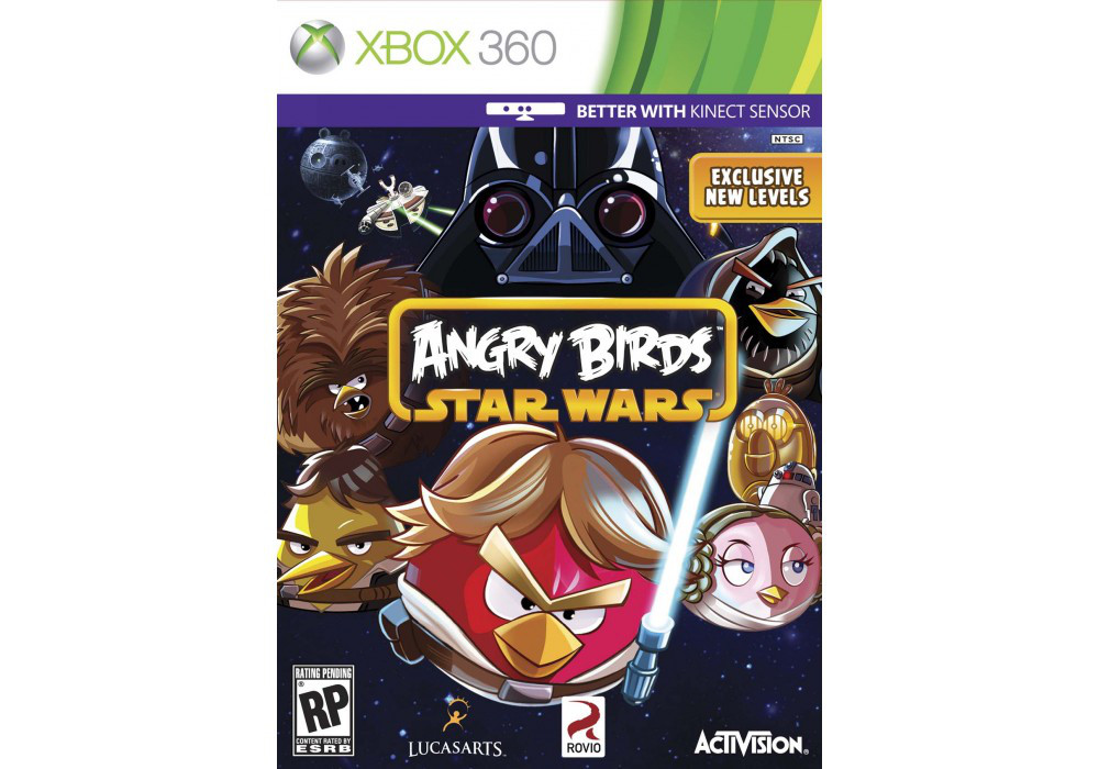 Игра для игровой консоли Xbox 360, Angry Birds: Star Wars (интереснее с kinect)