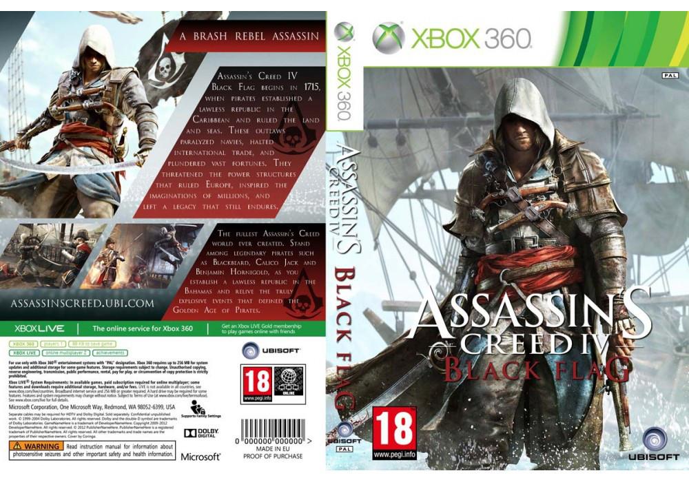 Игра для игровой консоли Xbox 360, Assassin's Creed IV: Black Flag (2 диска, +мультиплеер)