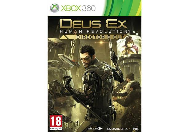 Игра для игровой консоли Xbox 360, Deus Ex: Human Revolution - Director's Cut (2 диска), фото 2