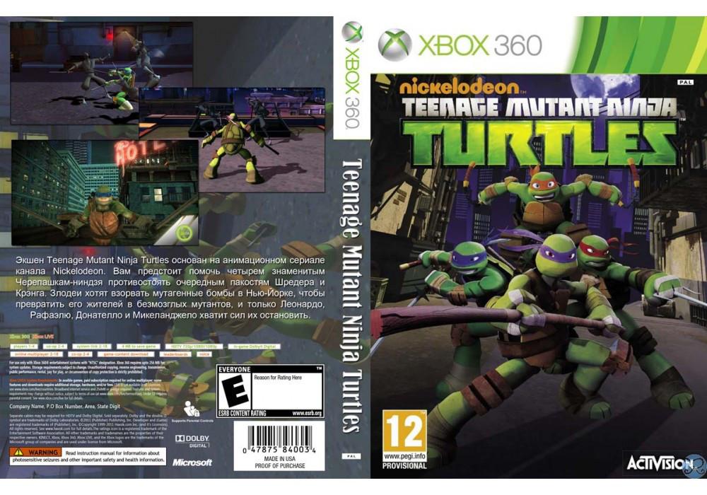 Игра для игровой консоли Xbox 360, Teenage Mutant Ninja Turtles