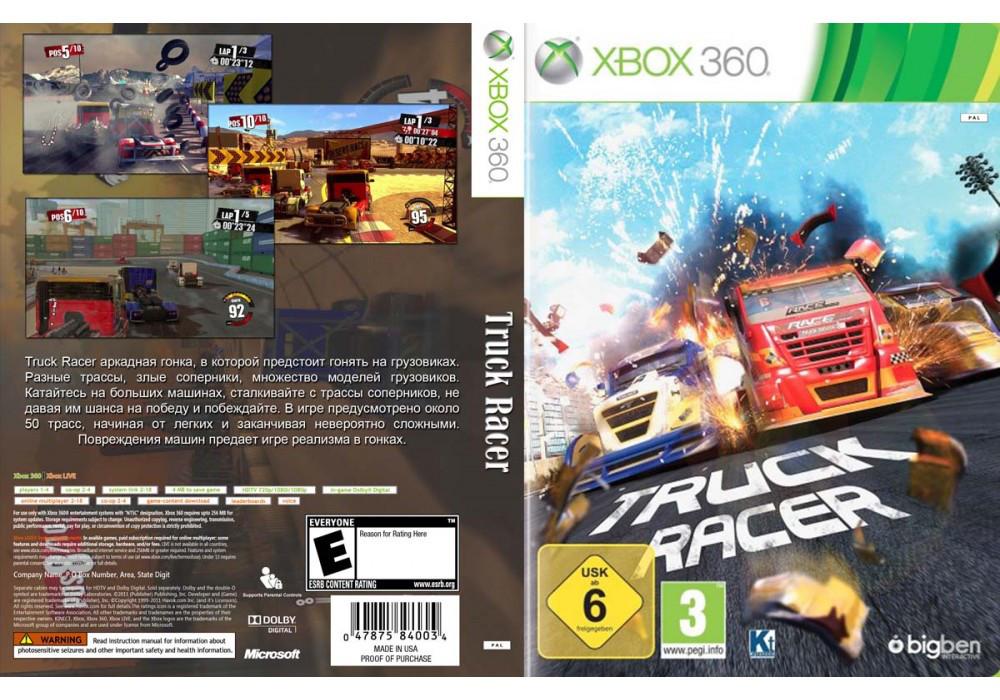 Игра для игровой консоли Xbox 360, Truck Racer