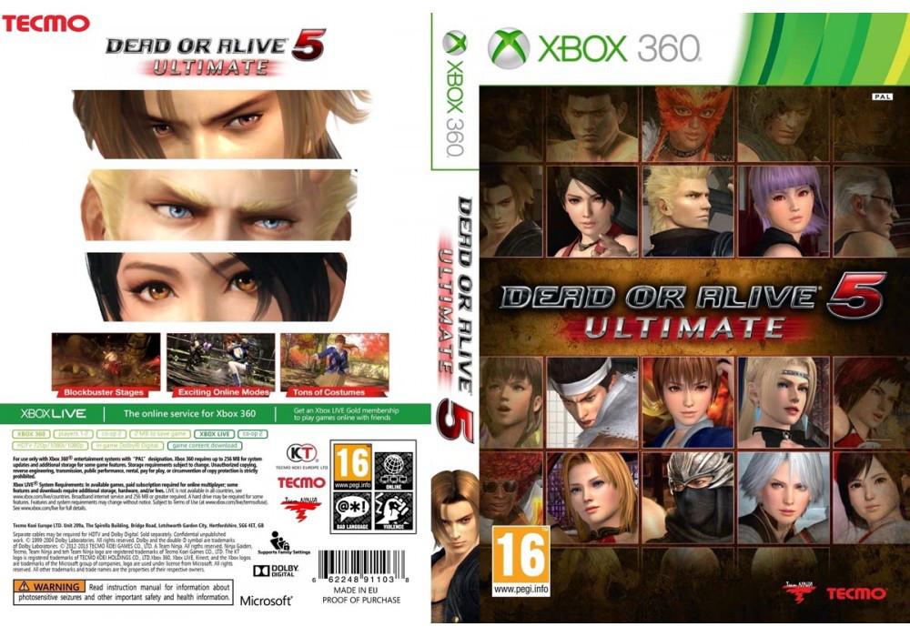 Игра для игровой консоли Xbox 360, Dead or Alive 5 Ultimate