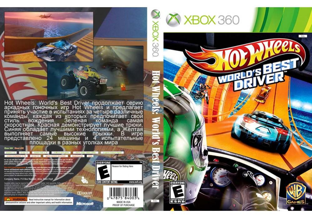 Игра для игровой консоли Xbox 360, Hot Wheels: World's Best Driver