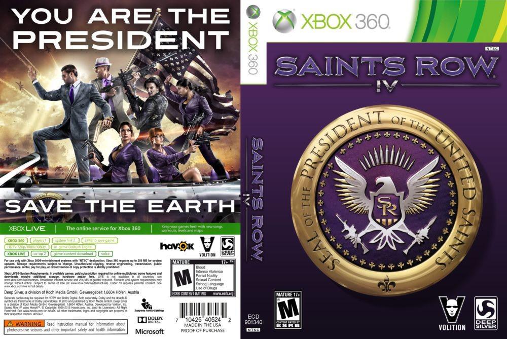 Игра для игровой консоли Xbox 360, Saints Row 4