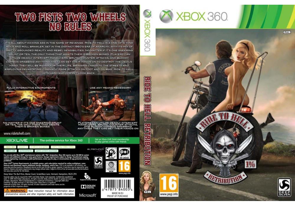 Игра для игровой консоли Xbox 360, Ride to Hell: Retribution
