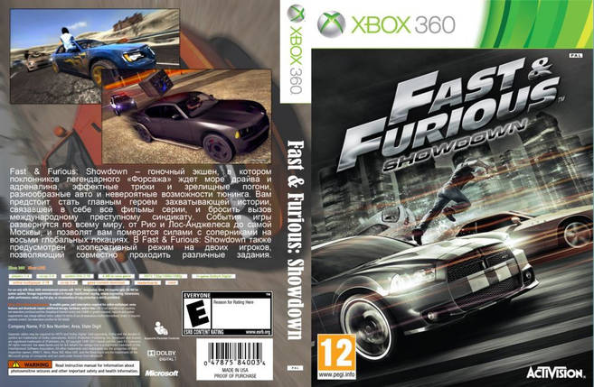 Игра для игровой консоли Xbox 360, Fast & Furious: Showdown, фото 2
