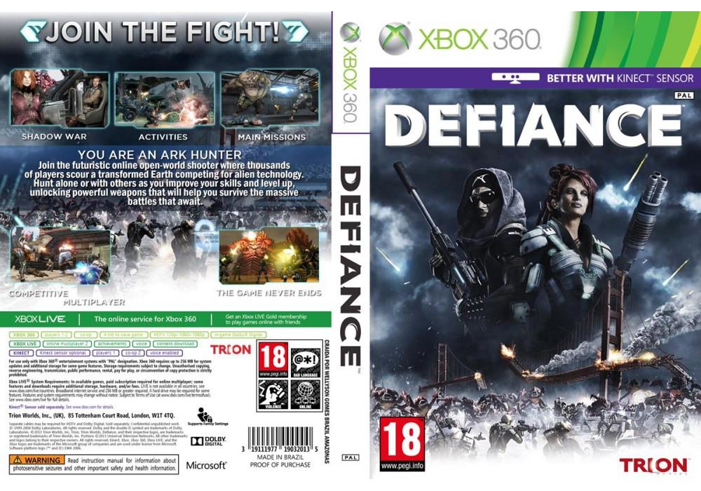 Игра для игровой консоли Xbox 360, Defiance