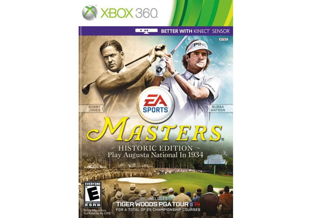 Игра для игровой консоли Xbox 360, Tiger Woods PGA Tour 14: Masters Historic Edition