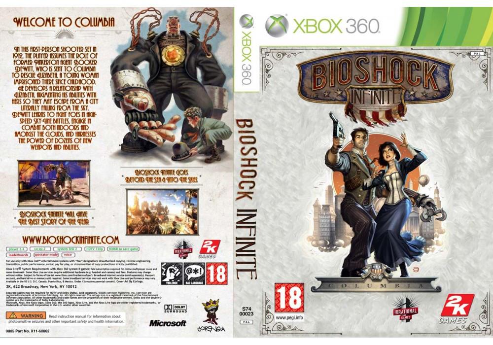 Игра для игровой консоли Xbox 360, BioShock Infinite