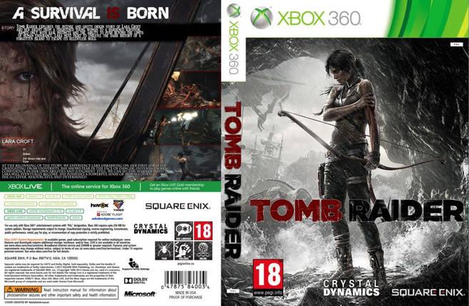 Игра для игровой консоли Xbox 360, Tomb Raider, фото 2
