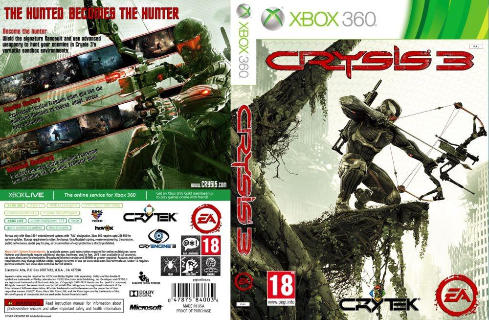 Игра для игровой консоли Xbox 360, Crysis 3