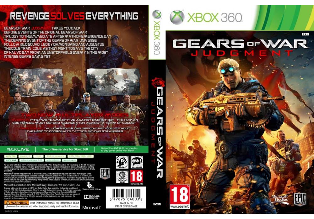 Игра для игровой консоли Xbox 360, Gears of War: Judgment