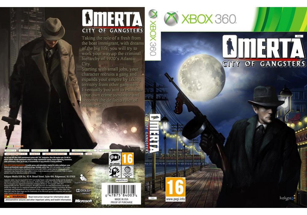 Игра для игровой консоли Xbox 360, Omerta: City of Gangsters