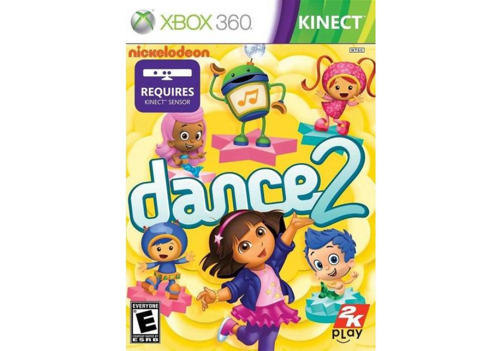 Игра для игровой консоли Xbox 360, Nickelodeon Dance 2 [kinect]