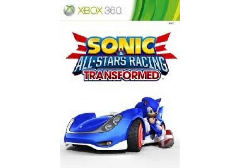 Игра для игровой консоли Xbox 360, Sonic All Stars Racing Transformed