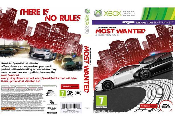 Игра для игровой консоли Xbox 360, Need For Speed: Most Wanted (2012, интереснее с Kinect), фото 2