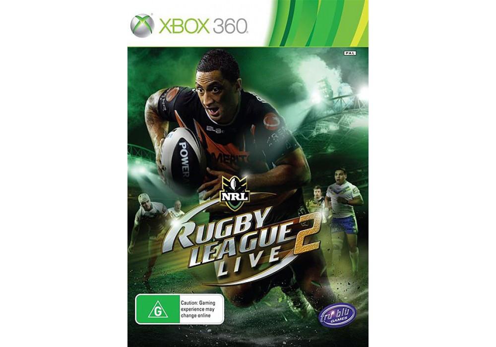 Игра для игровой консоли Xbox 360, Rugby League Live 2