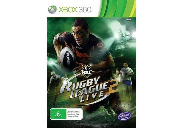 Игра для игровой консоли Xbox 360, Rugby League Live 2, фото 2