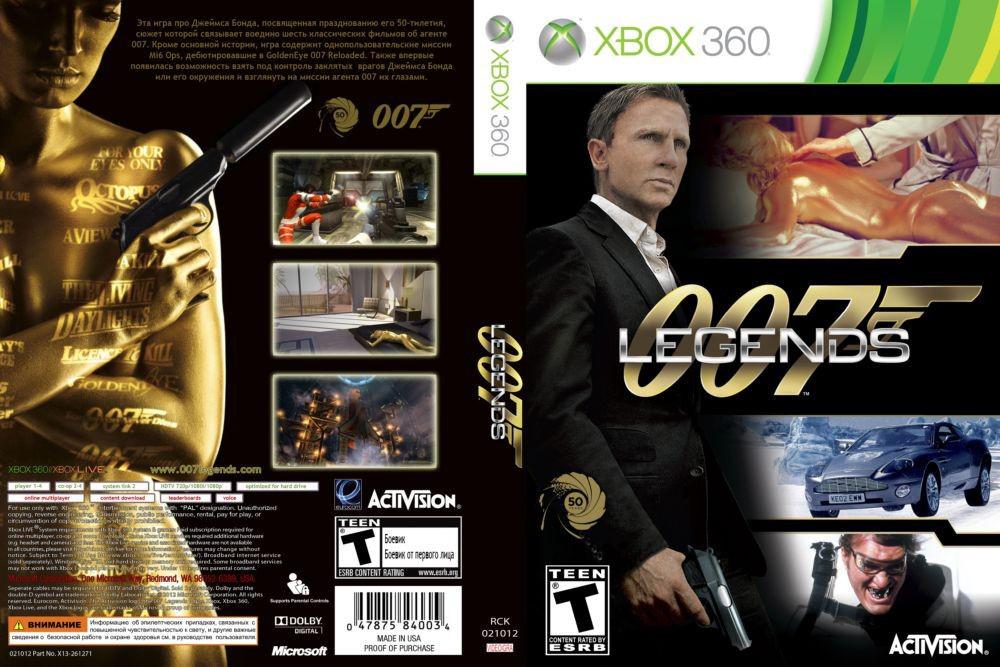 Игра для игровой консоли Xbox 360, James Bond 007 Legends