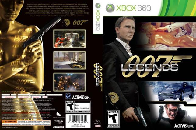 Игра для игровой консоли Xbox 360, James Bond 007 Legends, фото 2