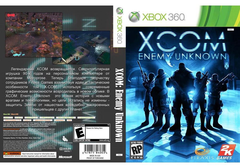 Игра для игровой консоли Xbox 360, X-COM: Enemy Unknown