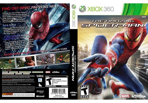 Игра для игровой консоли Xbox 360, The Amazing Spider-Man, фото 2