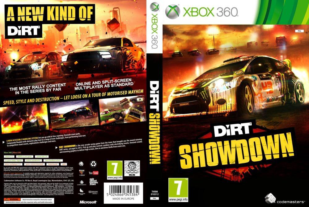 Игра для игровой консоли Xbox 360, DiRT Showdown