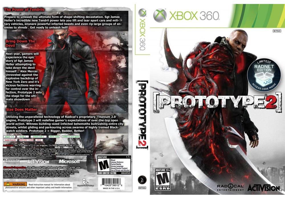Игра для игровой консоли Xbox 360, Prototype 2