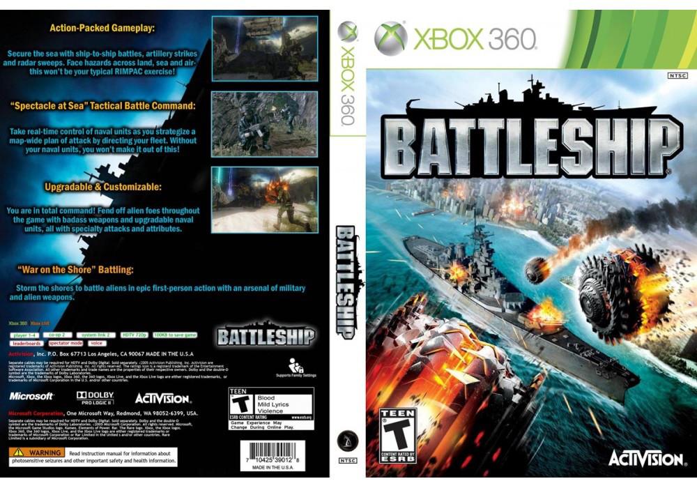 Игра для игровой консоли Xbox 360, Battleship