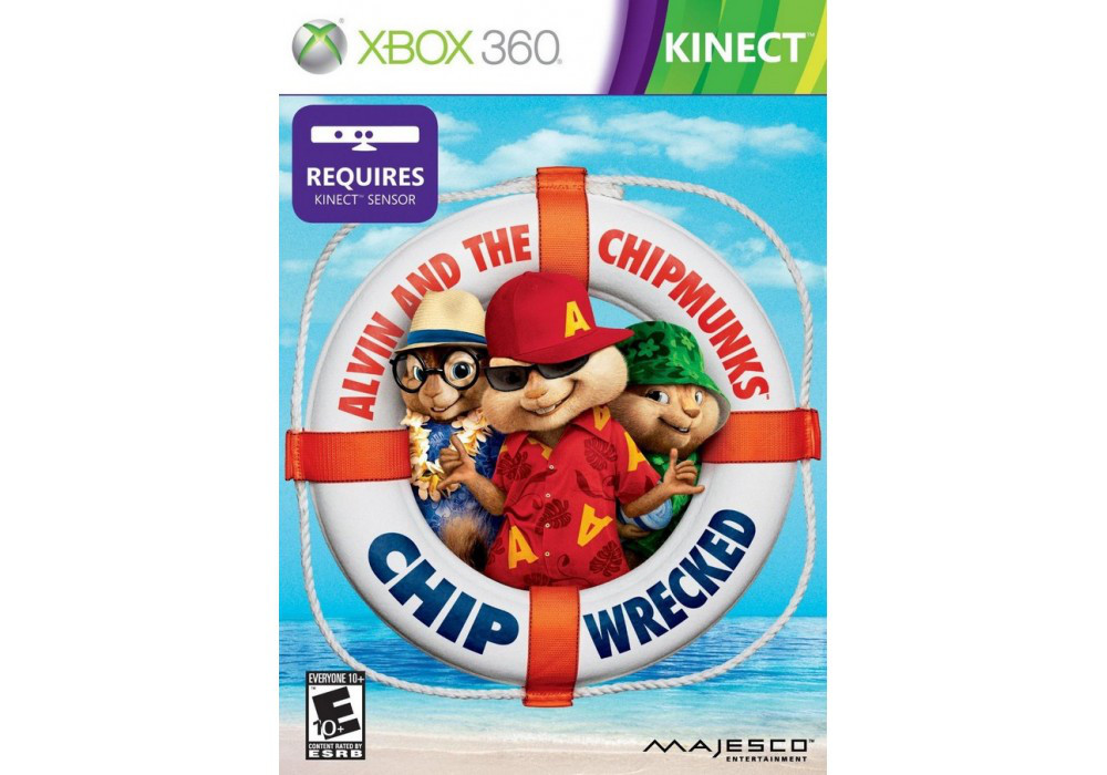 Игра для игровой консоли Xbox 360, Alvin and the Chipmunks : Chipwrecked [Kinect]