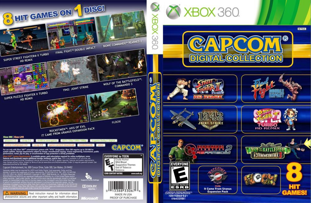 Игра для игровой консоли Xbox 360, Capcom Digital Collection