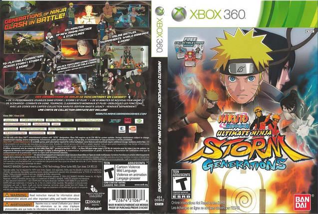 Игра для игровой консоли Xbox 360, Naruto Shippuden: Ultimate Ninja Storm Generations, фото 2